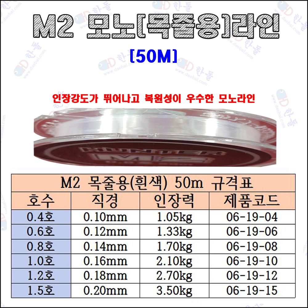 M2 모노라인 50m